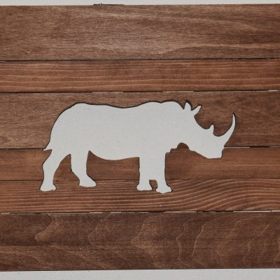 Rhino Wall Art